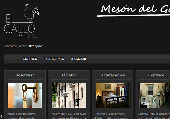 <b>http://www.mesondelgallo.net</b><br><b>http://www.salamandra-bc.es</b><br>Webdesign, hosting, domain registration, e-mail, natural positioning in search engines, web-maintenance and technical advise.