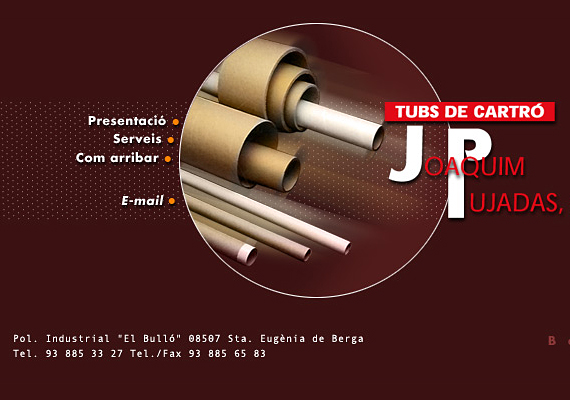 <b>http://www.tubsdecartropujadas.com.comt</b><br>Webdesign, hosting, domain registration, e-mail, natural positioning in search engines, web-maintenance, tracking and control of  the law for the protection of personal data.